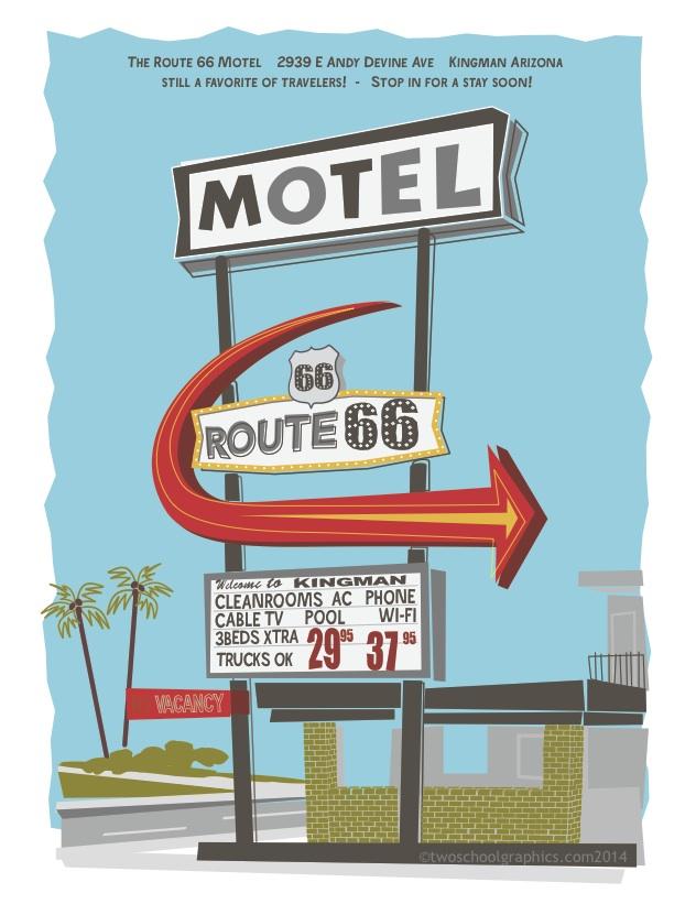 013-Route 66 Art-Route 66 Motel-v4