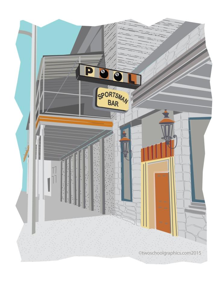 Route-66-Art-Sportsmans Bar