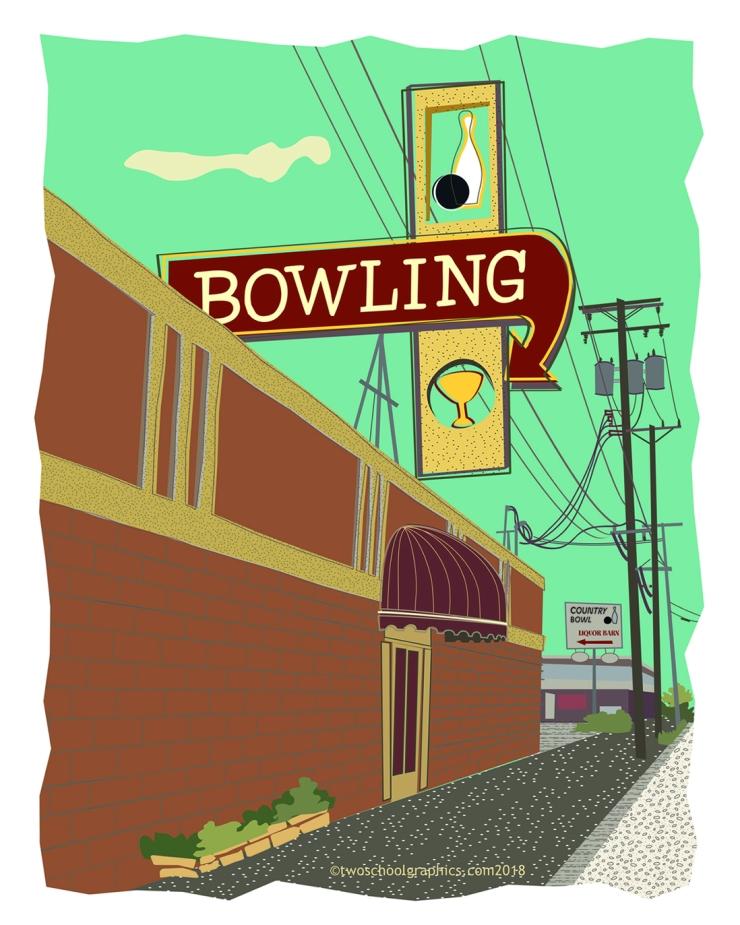 Hwy 99 Art-Redding Bowling Alley v4