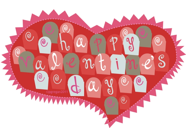 February VAlentines day card-2011