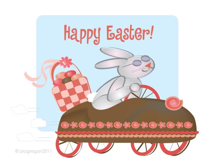 April 2011-Easter Bunny Car